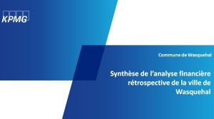 Synthèse KMPG